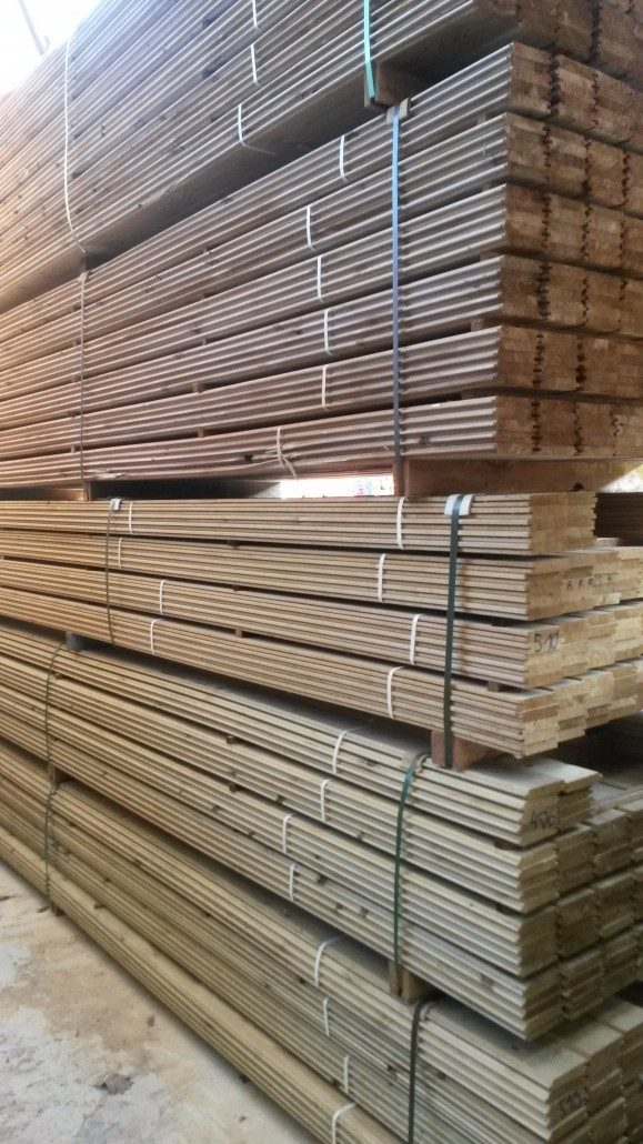 Tarima maciza de roble blanco egurbois - Madera de pino para exterior ...