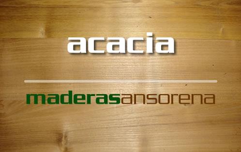 madera de acacia