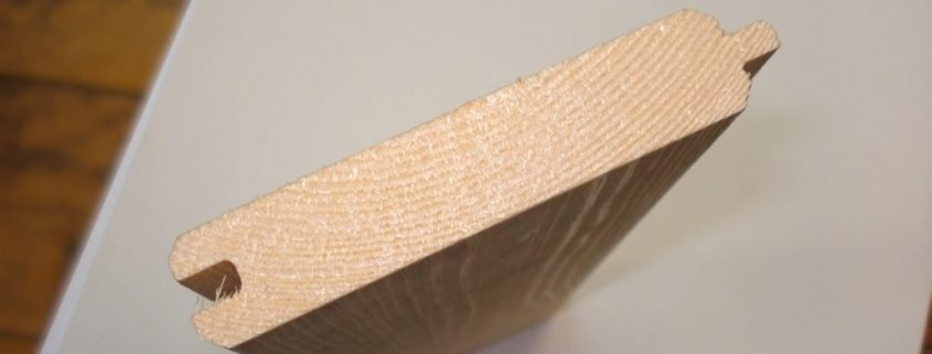 friso de madera de pino