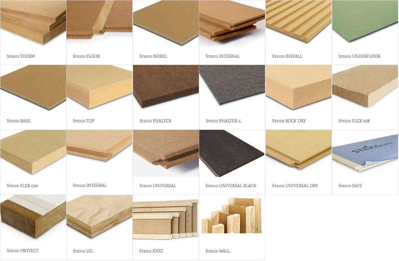 catalogo de steico, aislante de fibras de madera