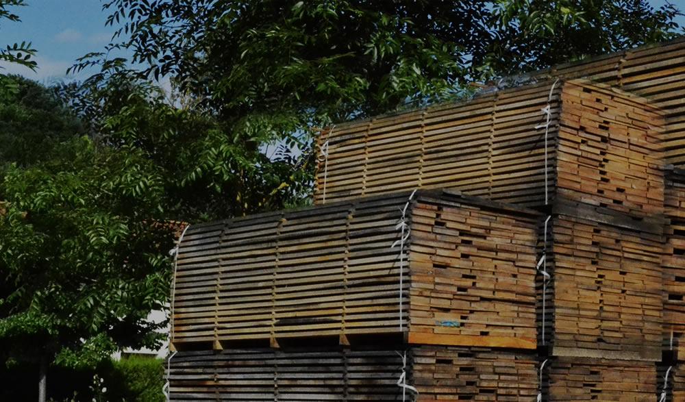 vigas de madera