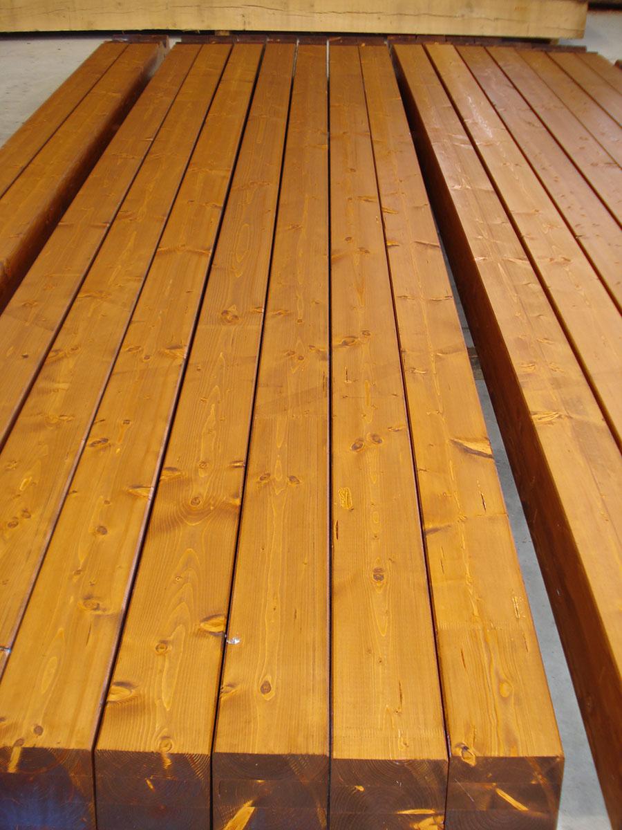 vigas laminadas de madera