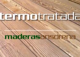 madera termotratada