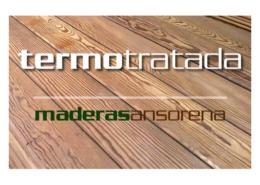 Tarima madera termotratada