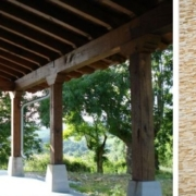 Balcones y porches de madera